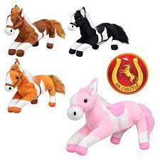 Лошадь MP 0632 (66шт) 4 цвета, звук, 30см (шт.)