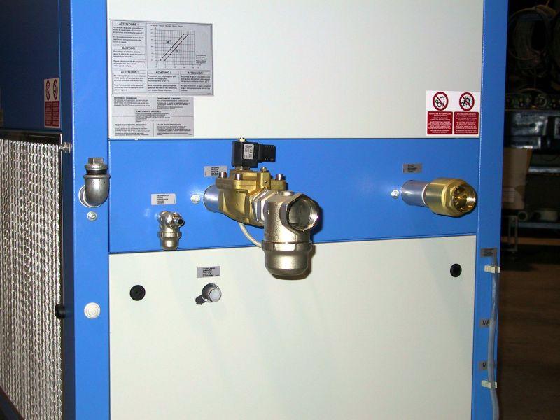 Чиллер - система входа-выхода на охлаждение
