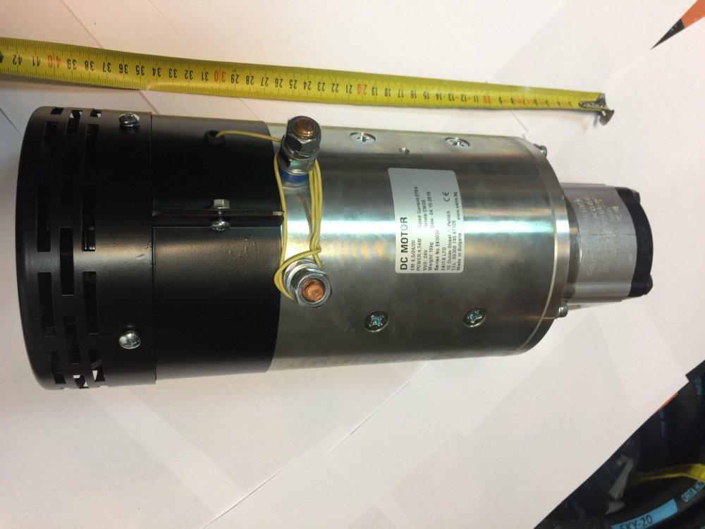 Купить Гидравлический насос с электроприводом электронасос 24V, 4,5KW