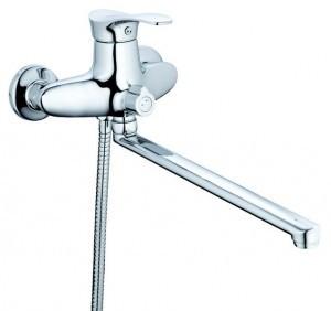 Смеситель Латунь ISO Zegor XZ51 для ванны NPO