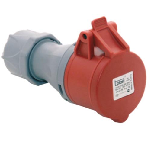Разъем IP44 полиамид 3107-304-1600 5 * 32А