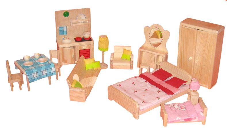 Набор мебель для кукол своими руками