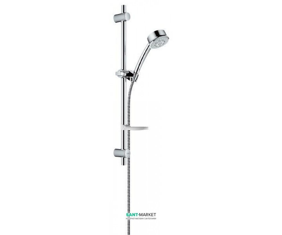 Shower Set With Grohe Bar The Bauclassic Collection With A Soap Tray