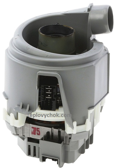 The pump with Teng for the Bosch dishwasher (Bosch) / Siemens (Siemens) 755078