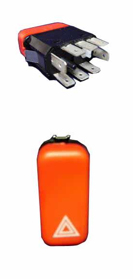 Купить Кнопка включения аварийки Mercedes 609D/814/Atego/Actros 12-02-03-0279 Sorl