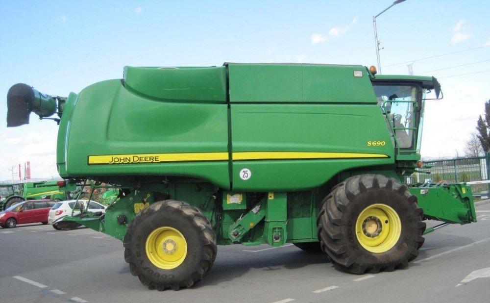 Купить Зерноуборочный комбайн JOHN DEERE S690 2008 года
