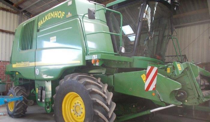 Купить Зерноуборочный комбайн John Deere 9660 WTS 2002 года