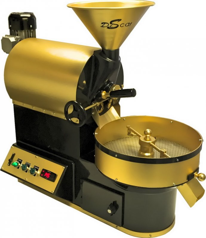 Discaf Сoffee Roasters on electricity TN-2 up to 8 kg/h