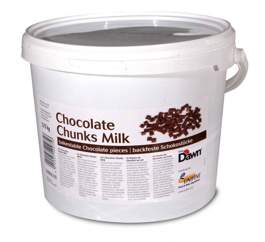 Молочный шоколад в кусочках / Chocolate Chunks Milk