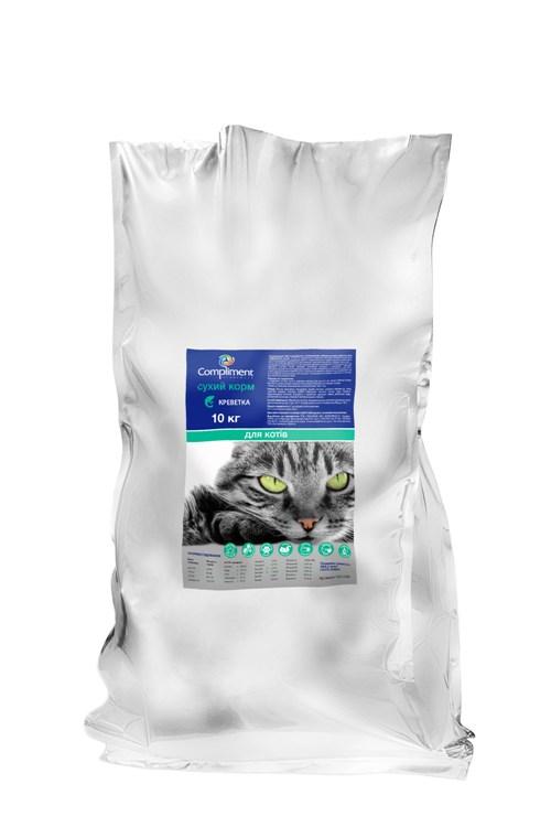 Сухой корм для кошек Premium  С креветкой и рисом ( 101108)