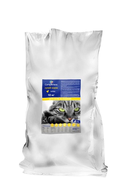 Сухой корм для котов Premium с курицей (101114)