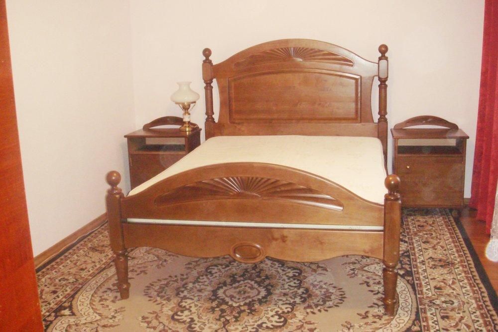 Кровать двуспальная с ортопедическим основанием