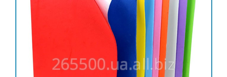 Купить ЭВА фоам. Фоамирам. Термопластичный материал для изготовления украшений и сувениров (хенд-мейд)