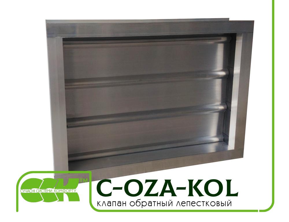 Flap check valve C-OZA-KOL-035