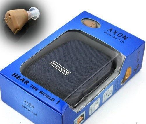 Аккумуляторный слуховой аппарат Axon K-88 внутриканальный