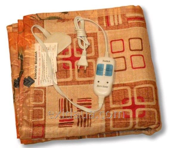 Электропростынь (электро-матрас) Двуспальный
