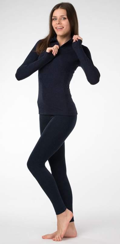 Термобелье комплект женский горловина на замочке шерсть