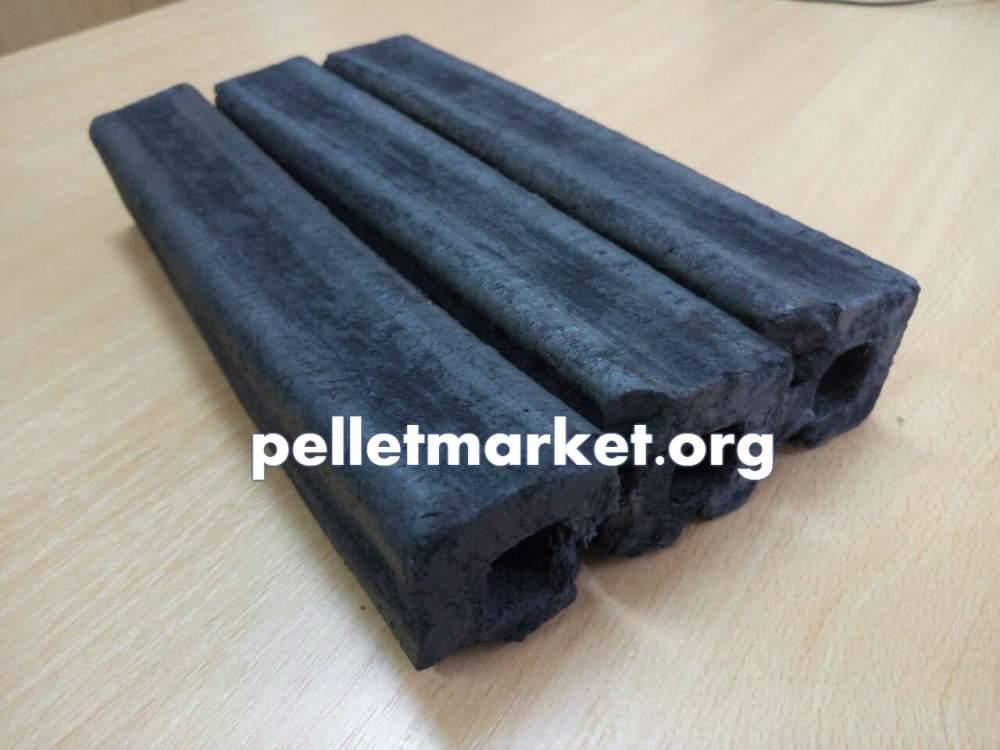 Odun kömürü briketleri