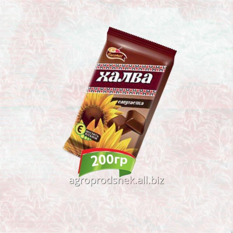 Халва подсолнечника с какао 200 г