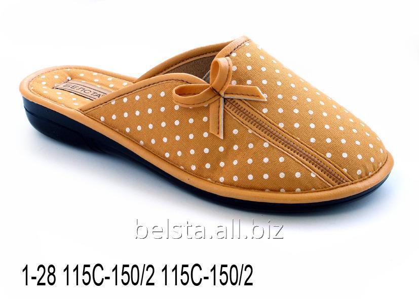 Женские тапочки 1-28 115С-150/2 115С-150/2