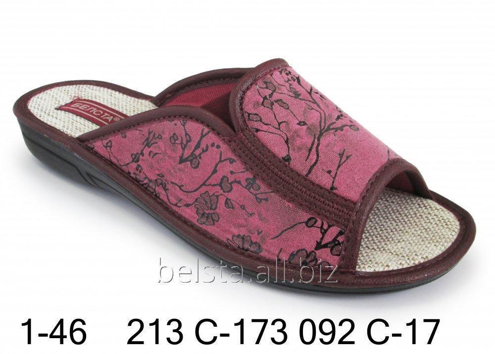 Женские тапочки 1-46 213С-173 092С-17