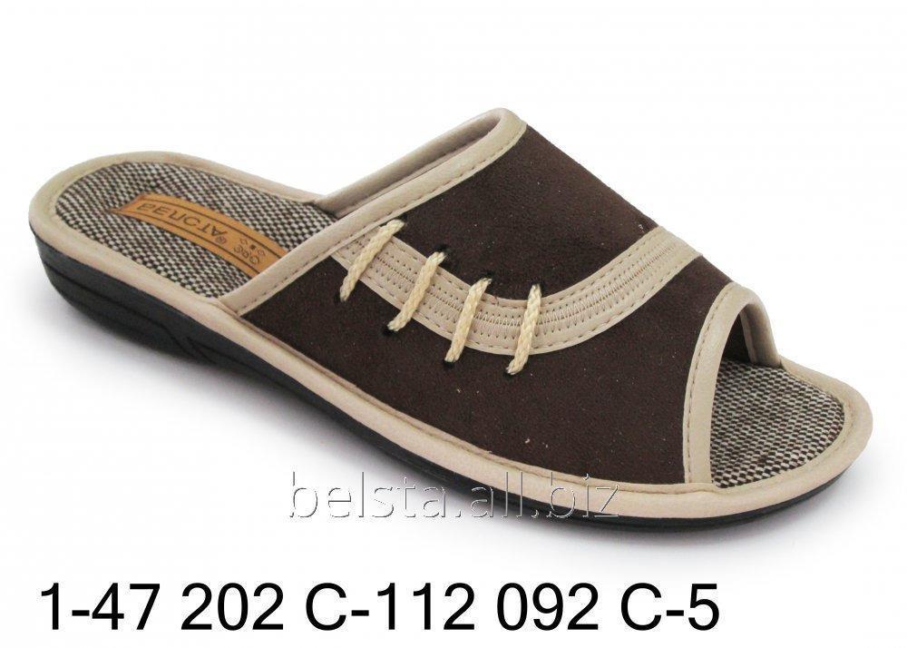 Женские тапочки 1-47 202С-112 092С-5