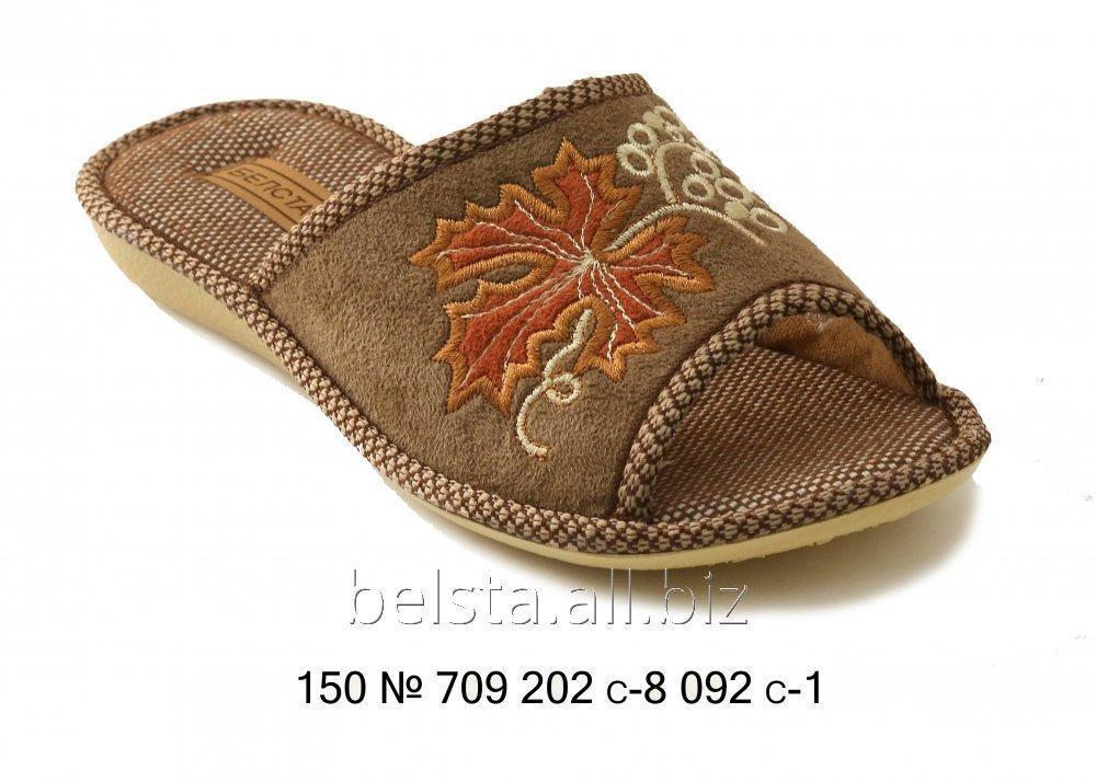 Женские тапочки 150 № 709 202 С-8 092 С-1