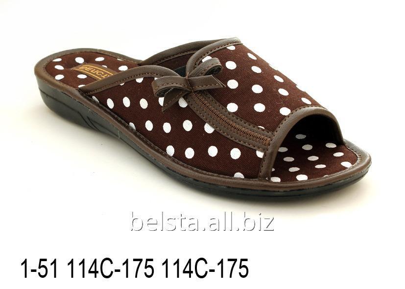 Купить Женские тапочки 1-51 114С-175 114С-175