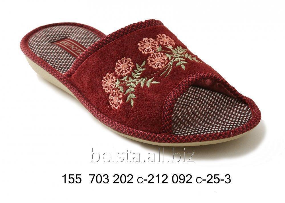 Женские тапочки 155 № 703 202 С-212 092 С-25-3