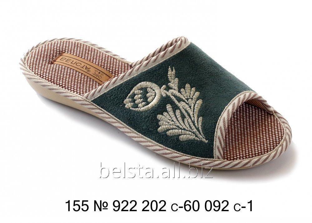 Женские тапочки 155 № 922 202 С-60 092 С-1 2