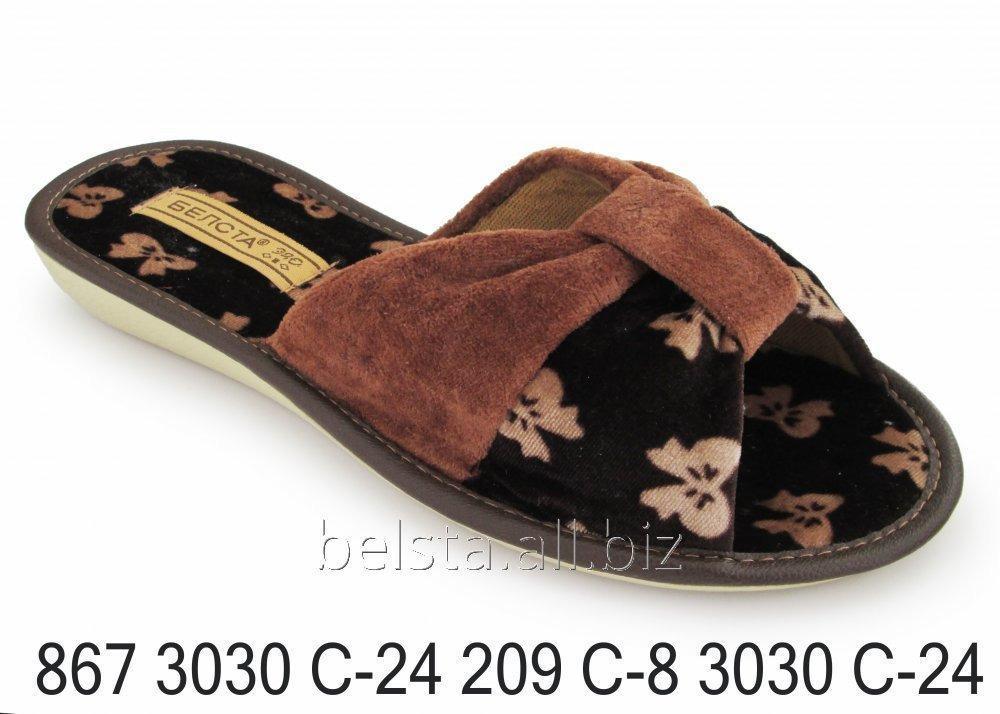 Женские тапочки 867 3030С-24 209С-8 3030С-24