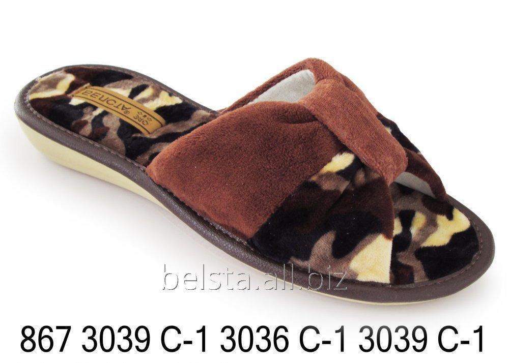 Женские тапочки 867 3039С-1 3036С-1 3039С-1