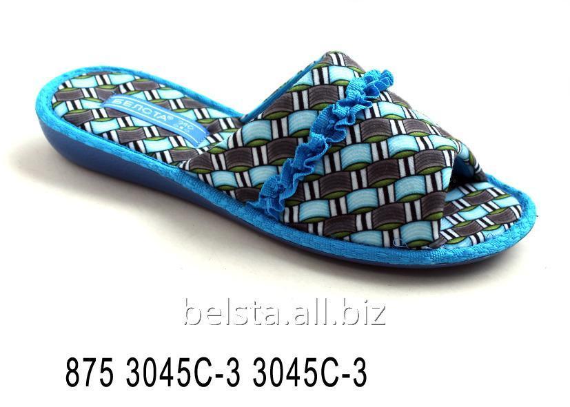Женские тапочки 875 3045C-3 3045C-3