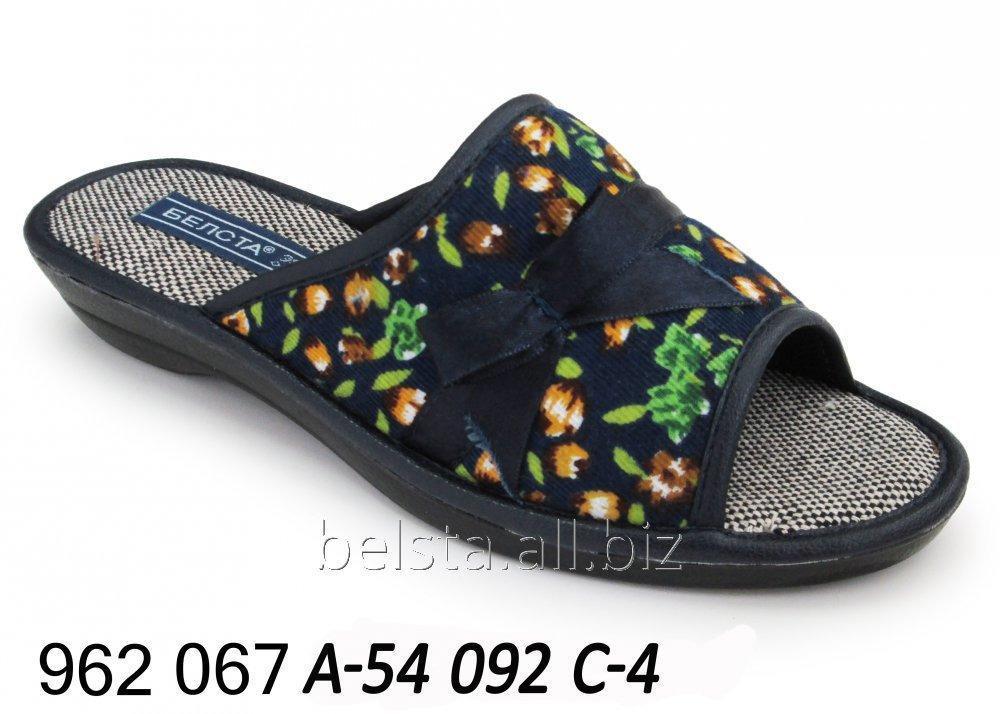 Женские тапочки 962 067 А-54 092С-4
