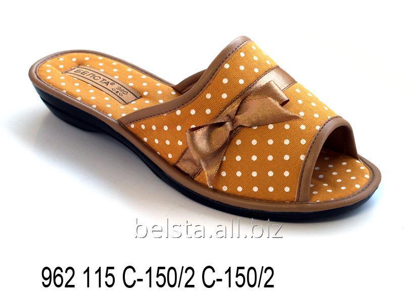 Женские тапочки 962 115 С-150/2 С-150/2