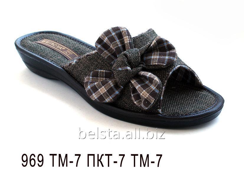 Женские тапочки 969 ТМ-7 ПКТ-7 ТМ-7