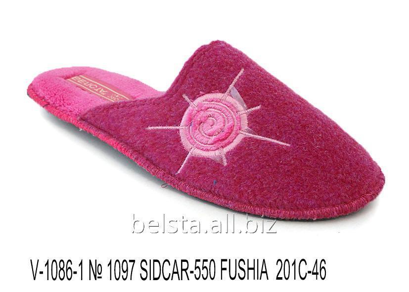 Женские тапочки V-1086-1 № 1097 Sidcar-550 Fushia 201С-46