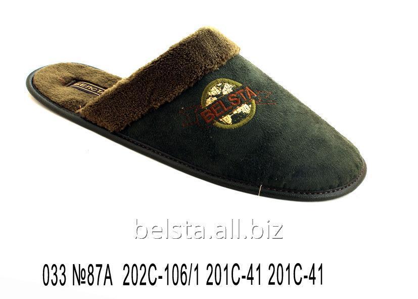 Buy Men's slippers 033 No. 87A 202C-106/1 201S-41 201S-41
