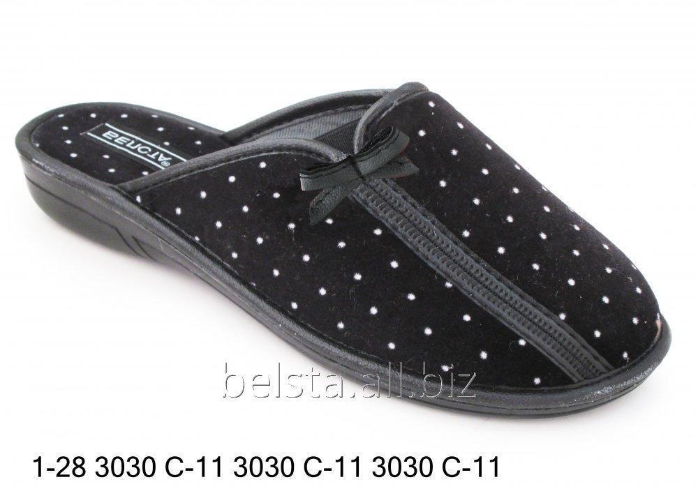 Женские тапочки 1-28 3030С-11