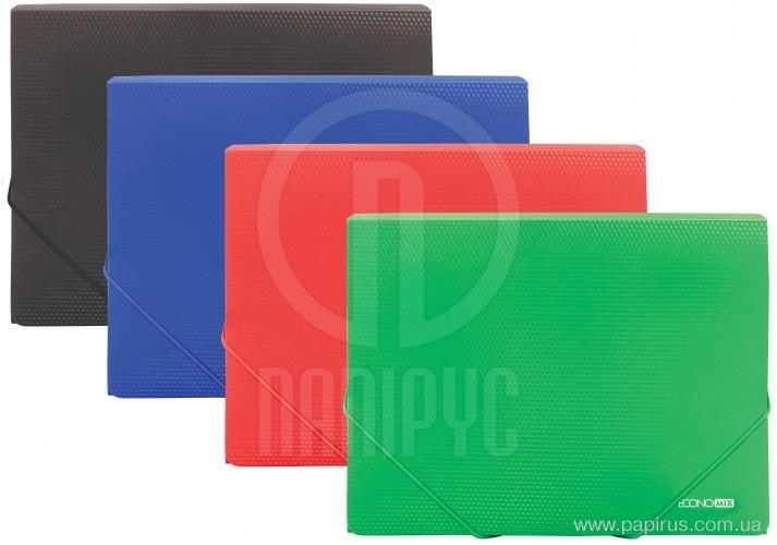 Купить Папка В5 пластиковая на резинках, ассорти, арт.: E31602