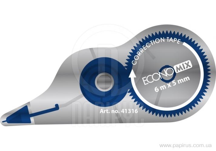 Proofreader tape Economix, 5 mm x 6 m