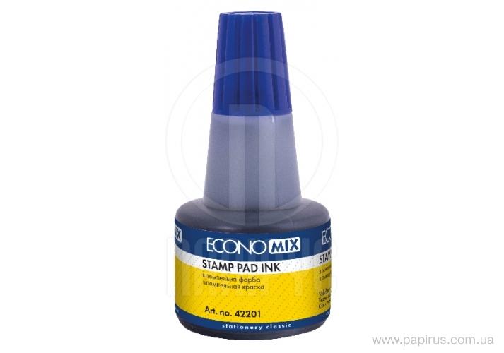Paint stamp TM Economix, blue