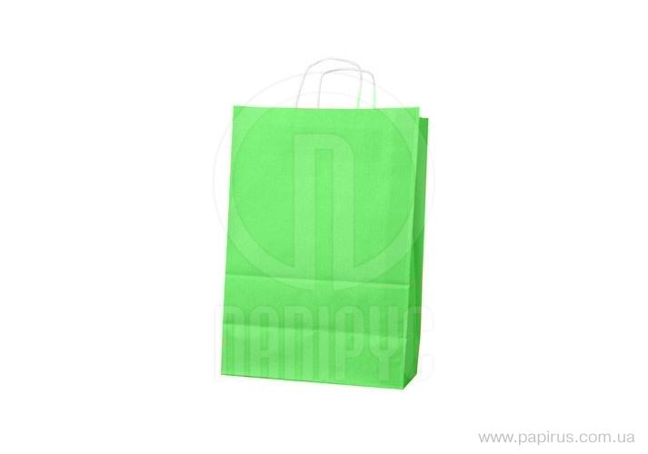 The package of Ecobag handles the size is 400х180х390 mm light green