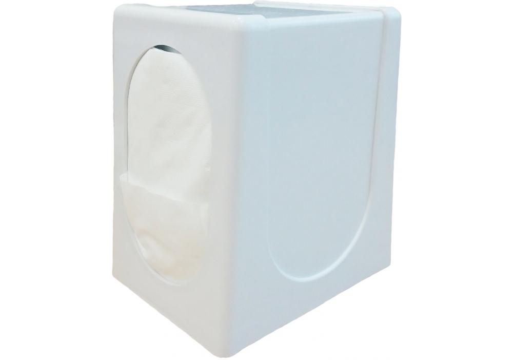 Купить Диспенсер пластиковый белого цвета для салфеток FE747579