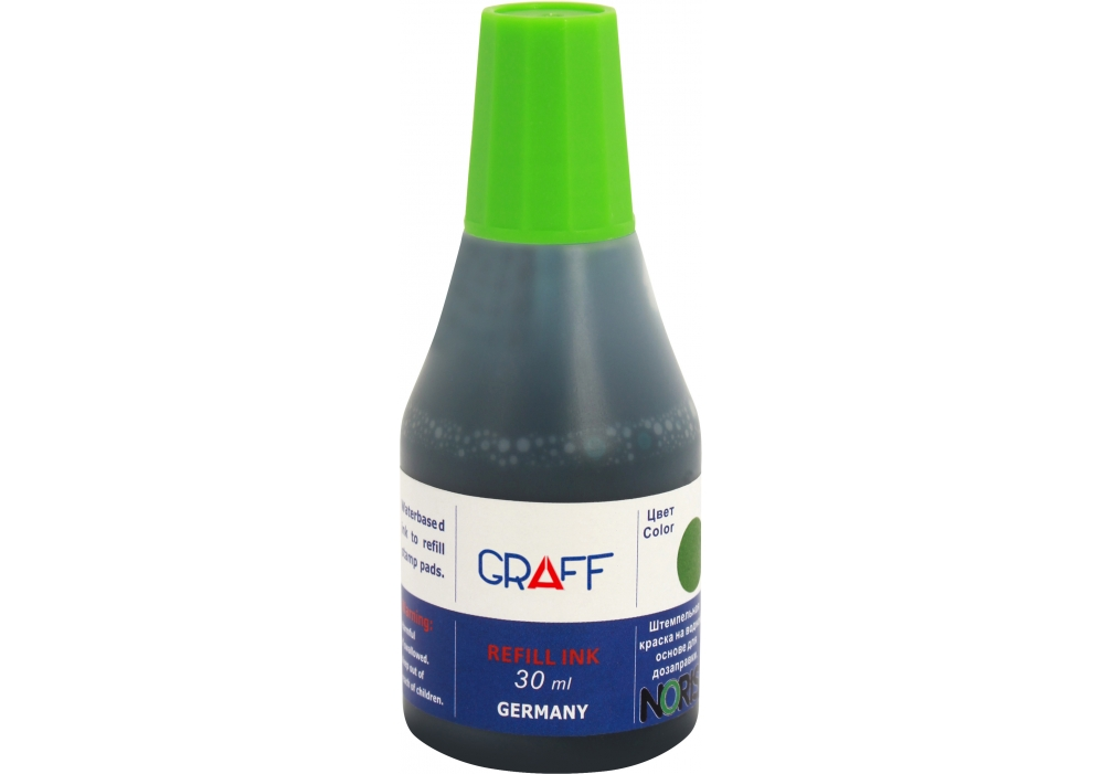 Paint stamp 30-SK, green