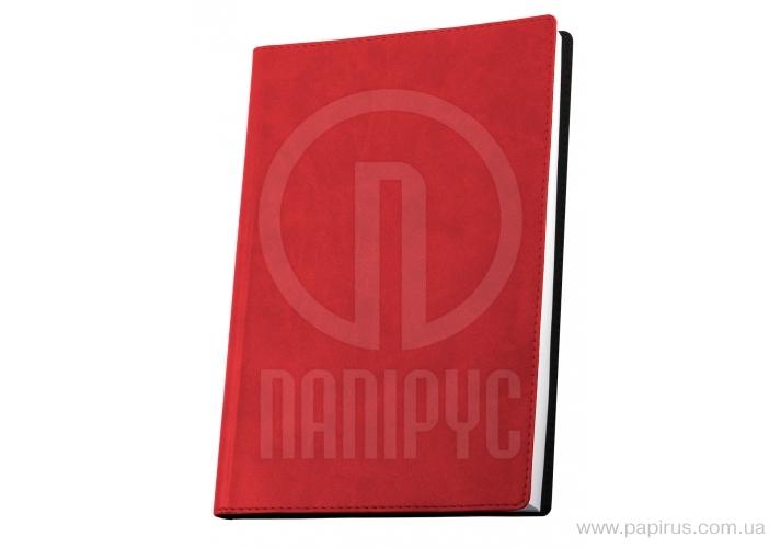 Купить Деловая записная книжка А6, Vivella, цвет обложки-красный