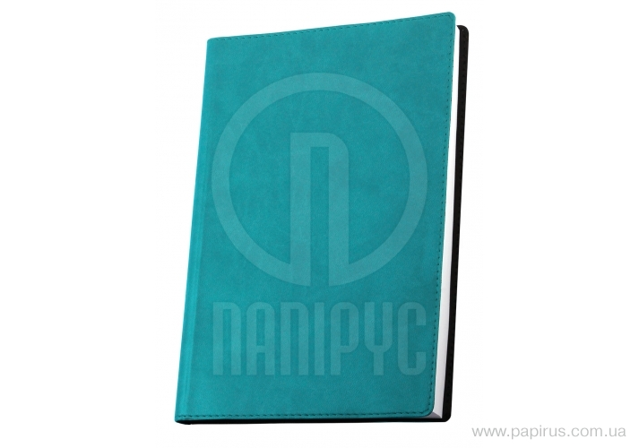 Buy The business notebook A6, Vivella, color of a cover - turquoise