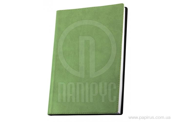 Купить Деловая записная книжка А6, Vivella, цвет обложки-фисташковый