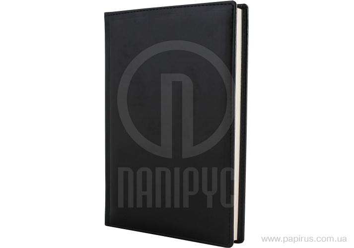 Купить Ежедневник недатированный, А5, Caprice, черный, кремовый блок