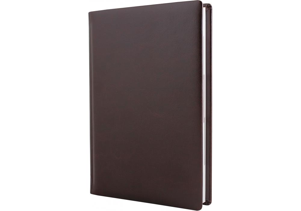 Купить Ежедневник полудатированный, А5, Nebraska, темно-коричневый